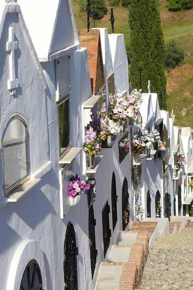 Friedhof in Casabermeja.