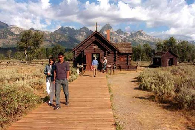 Kapelle im Nationalpark Grand Teton